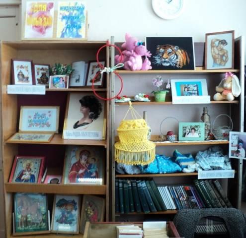 Выставка-хобби «Для милых дам»
