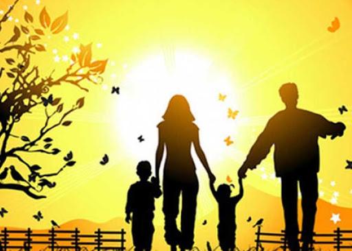 Семья, согретая любовью…